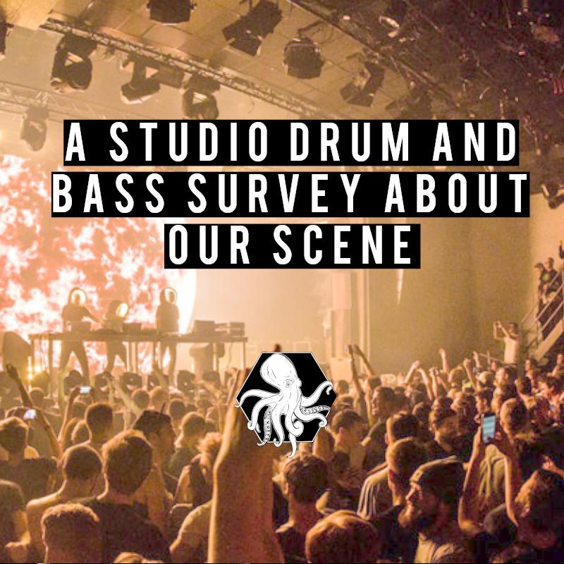Studio drum and bass sruvey audience sexe age subgenre liquid neurofunk deep jump up spotify soundcloud deezer car train moving